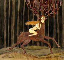 King-deer by ZhdaNN