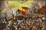 Battle of Five Armies by ZhdaNN