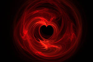 Heart Flames by shineout-fractals