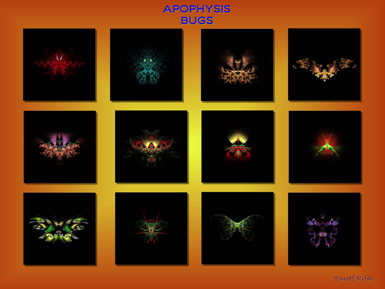 Apophysis bug print by shineout-fractals