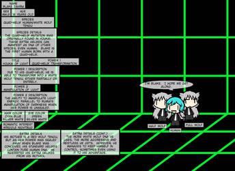 Touhou OC Bio: Blake, Youkai Of Light by Semi-SuperSonic