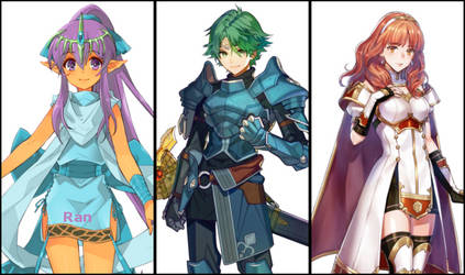 Fire Emblem amiibo Lineup: Ultimate Update by Semi-SuperSonic