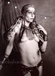 snakedancer backstage by munkyhaus