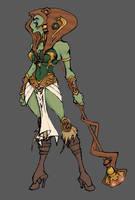 Teela as Sorceress by thejason10