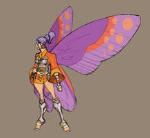 Flutterina by thejason10