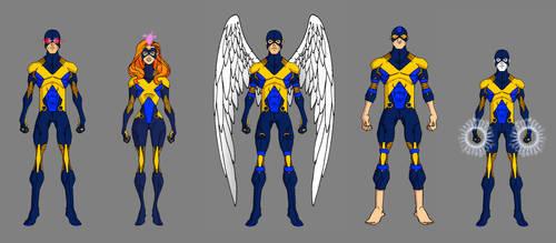X-Men - Uniform Variants (First Class) by thejason10