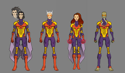Brotherhood - Uniform Variants (First Class) by thejason10