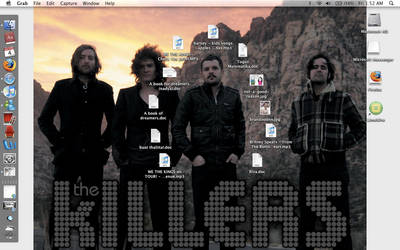 ILOVETHEKILLERS Desktop by Thaaaaaaaal
