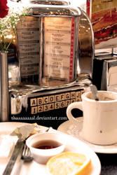 Breakfast? by Thaaaaaaaal