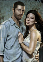 LOST - Jack And Kate by fangdarien