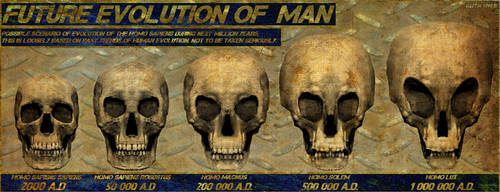 Future evolution of Man by JaySimons