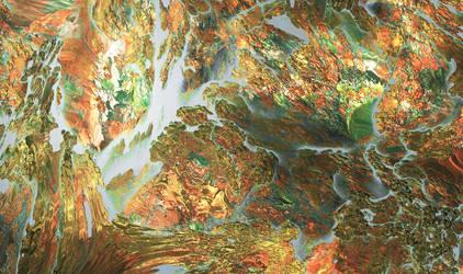 Floating Rocks by JaySimons