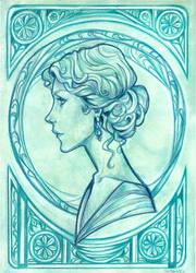 Nouveau Bleu by Muirin007