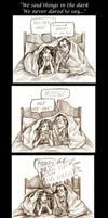 We Said Things In The Dark by Muirin007