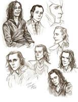 Loki Sketches by Muirin007