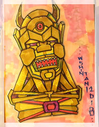 Robo Gladiator by shintani