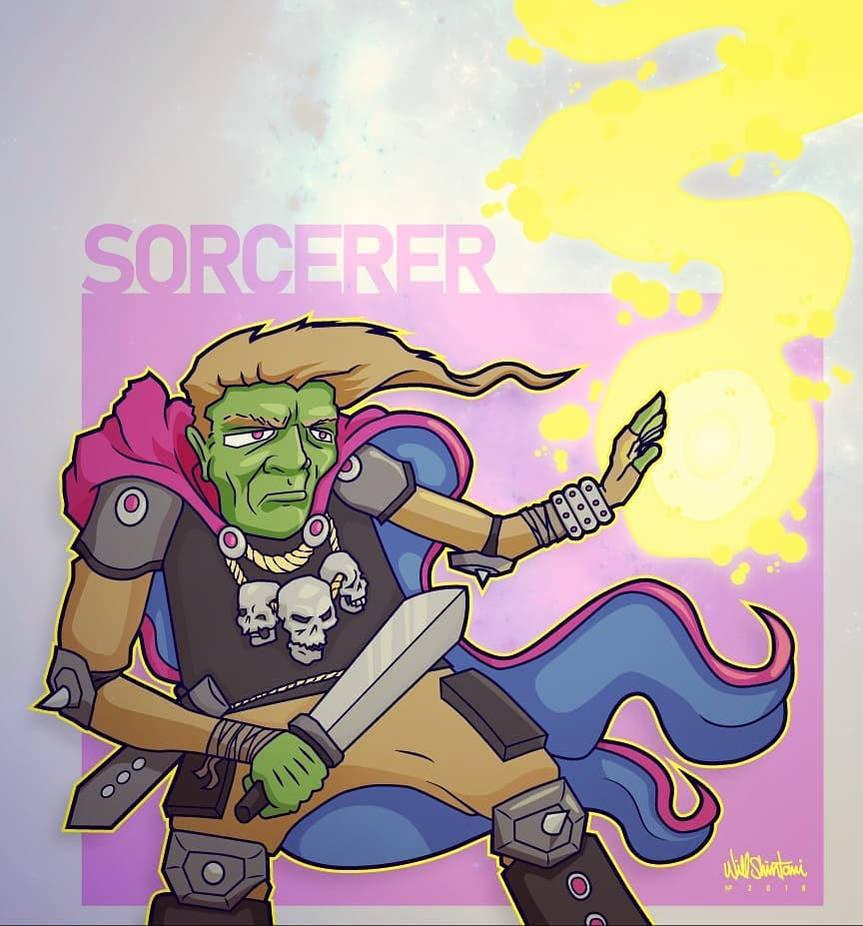 Sorcery by shintani