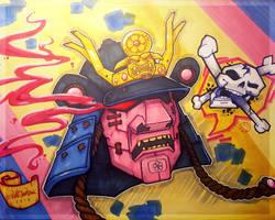 Toxic Samurai by shintani