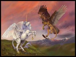 Mythological Beasts by vantid