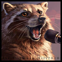 Croonin Coon by vantid