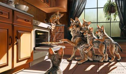 Coyote Cookies by vantid