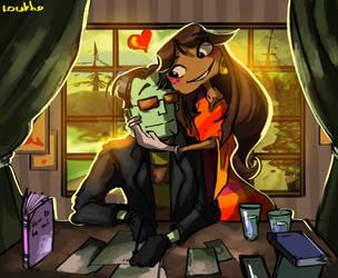 Time for a hug by Loukho