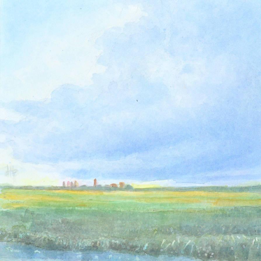 Untitled Landscape Holland by Oblomov-Ilya1956