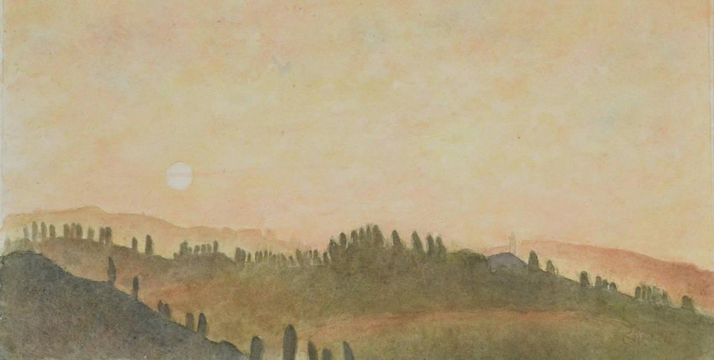 Sfumato 70 cm X 35 cm by Oblomov-Ilya1956