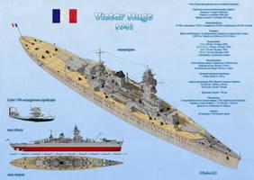 Light Battlecruiser Victor Hugo by SoloAD
