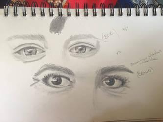 More eyes, in pairs.  by LyndasDaughter