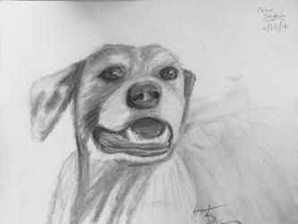 Chloe sketch.  by LyndasDaughter
