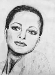 Portrait Class work by LyndasDaughter