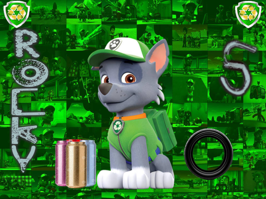 Paw Patrol Rocky By Double P1997 On Deviantart