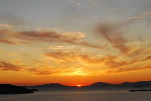 sunset I... by tonian