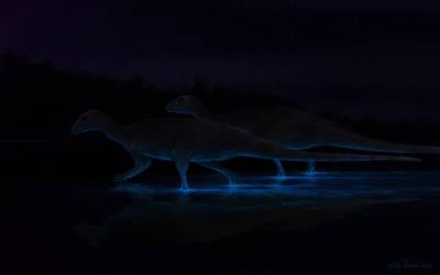 Bioluminiscent Pond by ChrisMasna