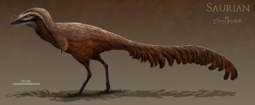 Hell Creek Alvarezsaurid by ChrisMasna