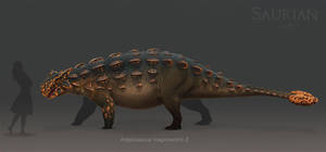 Ankylosaurus by ChrisMasna