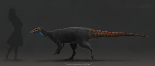 Thescelosaurus by ChrisMasna
