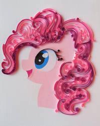 Quilling - Pinkie Pie by RzymonZPapieru