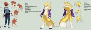 Digimon tamers: mirai character 3 - makino ruki by Riza23