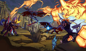 knights of destruction by Riza23