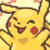 Pikachu yays by RoxasPikachu