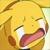 Pikachu crying plz