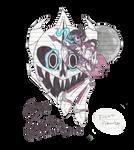 the TFP/Undertale oc : Zain the MoonBeast by RoxasPikachu