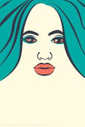 Minimalist Portrait by LadyLombax