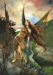 Following The Wind by Flingling