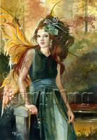 Wood Fairy by Flingling
