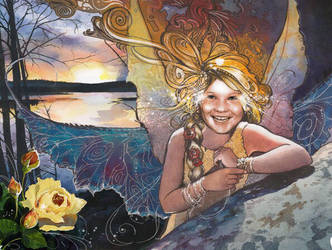Evening Fairy by Flingling