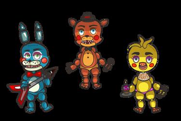 Toy Animatronics by PixelDepictions