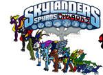 skylander's Dragons by silver-wing-mk2
